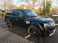 """Black Range Rover Sport Autobiography with 22"""" Alloys and Service History"""