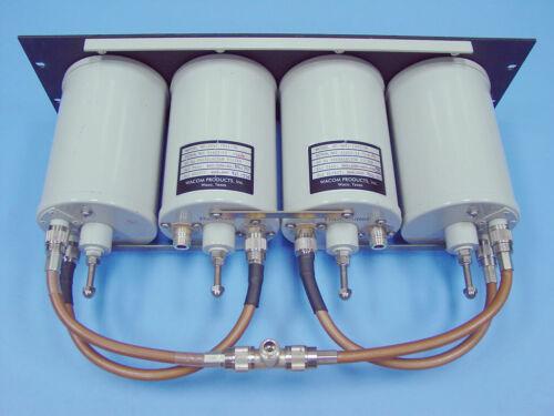VHF UHF Duplexer Cavity Filter Bandpass BpBr - TUNING Service Wacom TXRX, etc