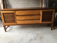 Vintage Retro Mid Century Teak Sideboard