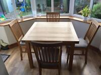 Lee Longlands table and chairs
