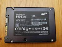 "Bargain 1TB Samsung 840 EVO 2.5"" SATA 6Gb/s Internal Solid State Drive (SSD)"