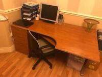 Professional Desk and Filing Draws