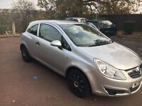 low milage VAUXHALL CORSA MINT
