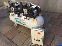 Jefferson Industrial 270 Litre Tandem Quality Air Compressor very good condition