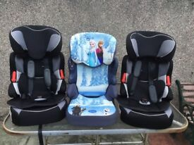 Child car seats (3)