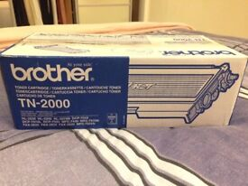 Brother TN-2000 Toner Cartridge - unopened