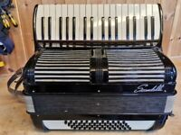 Scandalli. 48 Bass, 2 Voice, Swing Tuned, Piano Accordion.