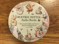 Beatrix Potter Audio Books - Complete Tales and Nursery Rhymes of Beatrix Potter on 23 CD's