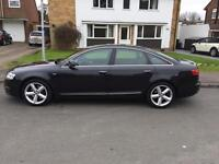 Audi A6 S-Line 2.0 turbo diesel. Low mileage 2009. Just had service and MOT. Detachable towbar.