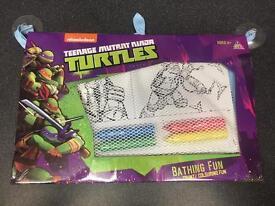 Ninja Turtle Bath Fun