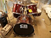 C B DRUM KIT., used for sale  Banff, Aberdeenshire