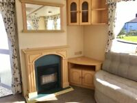 Static caravan for sale/2.3k site fees ONLY/brand new interior,carpets,upholstery/golf/fishing/lakes