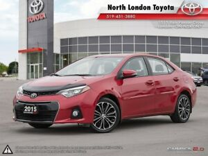 2015 Toyota Corolla S Great handling, sporty and fun but prac...