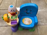 Fisher Price Laugh and Learn Activity Chair (Swedish Version)