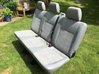 VW Transporter rear seats: A1 condition perfect for Kombi or camper conversion