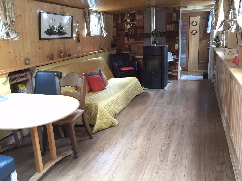 Just Reduced Dutch Barge Houseboat 3 Bedroom Floating Home