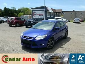 2013 Ford Focus SE - One Owner - Manual