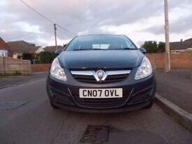VAUXHALL CORSA 2007 NEW MOT LOW TAX LOW INSURANCE EXCELLENT MECHANICAL CONDITION 1.2 GOOD ON FUEL