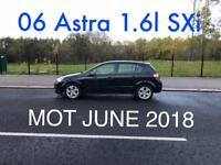 £1190 2006 Astra Design 1.6l* like focus megane golf insignia mondeo civic A3 A4 corolla