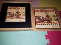 Wooden Monopoly