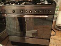 SMEG range cooker dual fuel. Good working order