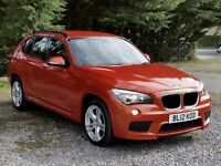 WINTER Weather Beater! 2012 BMW X1 (X-Drive) 20d M Sport, All-wheel-drive, One Owner, Low Mileage