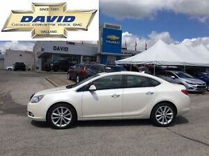 2012 Buick Verano 1SL  LEATHER, ROOF, NAVI, RSTR, P&H SEATS, LCL