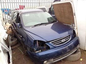 Kia carens diesel spare parts bumper bonnet light door