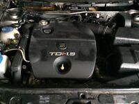 Seat Leon 19 TDI engine for sale (vw golf, bora, Toledo, Skoda,)
