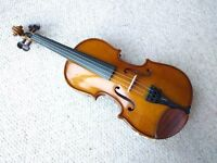Stentor Student 1 Violin Outfit 1/2 Size with Bow (V469) - Excellent Condition