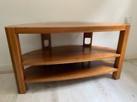 Solid walnut TV stand by Chris Sharp