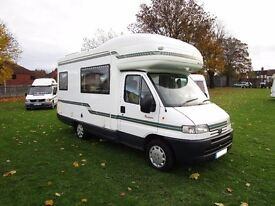 Autosleeper Pescara 4 berth motorhome with end kitchen for sale
