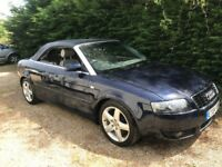 Audi A4 Convertible 2.5 V6 Turbo Diesel Sport