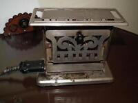 Antique 2 sided Toaster By Manning Bowman Quality