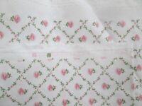 RARE Laura Ashley Kate Fabric Pink 1.68 x 1.22 metres new