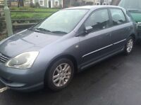 Honda Civic vtec 1.6i VTEC lower mileage