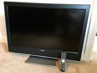 Toshiba 37 inch LCD TV with built in Freeview