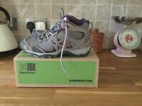 Size 3 - 4 ladies walking boots Karrimor