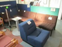 Used Office Reception Chairs Only a Tenner Each!