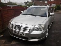 Toyota avensis estate relisted due to wasters