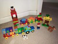 Lego Duplo with Lego head box