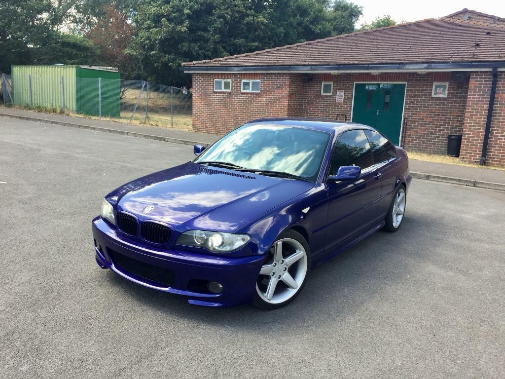 Bmw E46 325ci Individual Velvet Blue Manual Coupe In Greenford London Gumtree