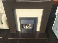 Electric Fire complete with surround