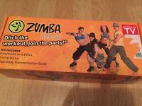 Zumba Dance Fitness DVD set