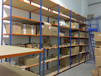 6 Bays Widespan Warehouse Racking Shelving Medium Duty 3660h x 1220w x 720d - Great Condition