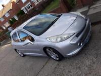 Peugeot 207 1.4 diesel with GTI body kit on £800