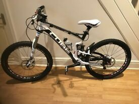 cube stereo hpc full suspension carbon mountain bike