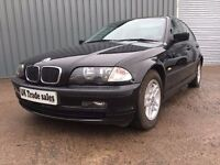 BMW 318 SE For only £995 Priced For Quick Trade Sale 30 More Cars For Under £1000