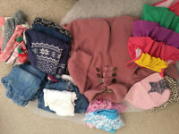 Bundle of baby girls clothes (for autumn), 6-12m