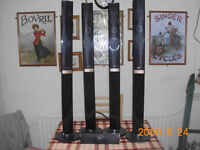 XENTA FLOOR STANDING AND A CENTER SPEAKERS